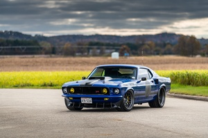 Ford Mustang Muscle Car 8k Wallpaper