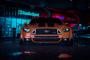 Ford Mustang RTR Need For Speed 4k Wallpaper
