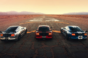 Ford Mustang Shelby Gt500 Drag 4k Wallpaper