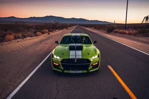Ford Mustang Shelby GT500 Front Wallpaper