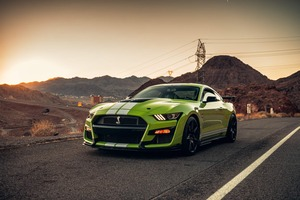 Ford Mustang Shelby GT500 Usa Wallpaper