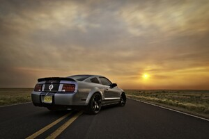Ford Mustang Silver Wallpaper