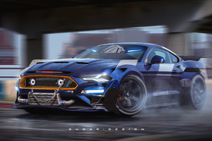 Ford Mustang Street Racing 4k Wallpaper