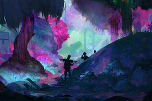 Forest Adventure Digital Art