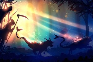 Forest Fantasy 2 Wallpaper