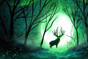 Forest Spirit 5k Wallpaper