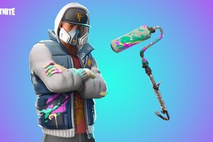 Fortnite Battle Royale Abstrakt Skin Artwork