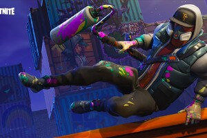 Fortnite Battle Royale Abstrakt Skin