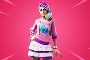 Fortnite Chapter Two Starlie Outfit Wallpaper