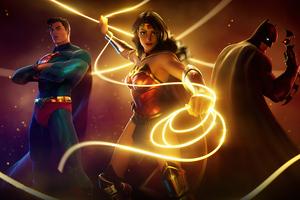 Fortnite Dc Heroes 4k Wallpaper