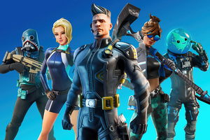 Fortnite Evergreens Blue Newsheader 2021 4k