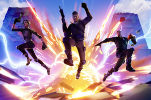 Fortnite Game 4k 2019