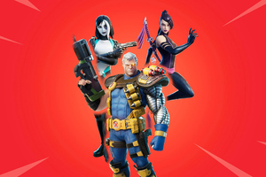 Fortnite Game X Force Wallpaper