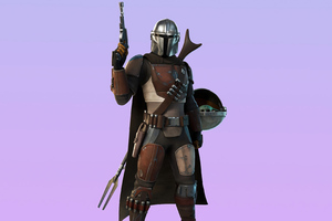 Fortnite Mandalorian Chapter 2 Season 5 Battle Pass 4K