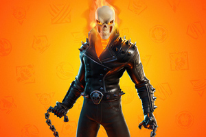 Fortnite Marvel Ghost Rider 2021 4k Wallpaper