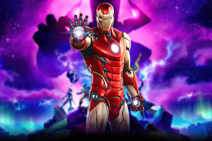 Fortnite Marvel Iron Man Wallpaper