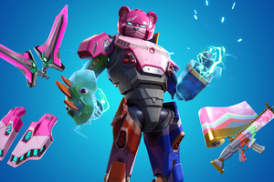 Fortnite Mecha Team Leader 4k