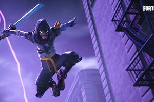 Fortnite Mythic Cloaked Star Ninja