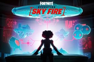 Fortnite Operation Sky Fire Wallpaper