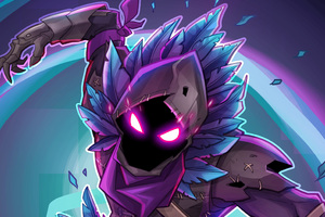 Fortnite Raven Fan Art