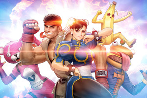 Fortnite Ryu Chun Li Street Fighter 2021 Wallpaper