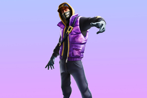 Fortnite Street Striker Skin Outfit 4K Wallpaper