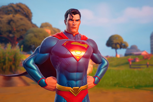 Fortnite Superman 4k