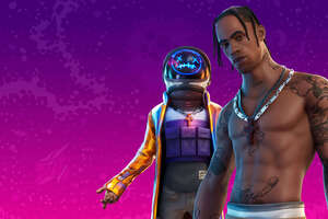 Fortnite Travis Scott 2020 4k