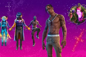 Fortnite Travis Scott 2020