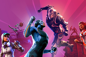 Fortnite X All Battle Pass Skin Wallpaper