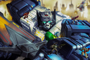 Fortress Maximus In Transformers Titans Return 2018 Wallpaper
