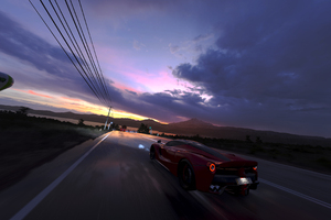 Forza Horizon 3 Ferrari Drifting Wallpaper