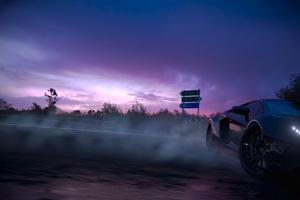 Forza Horizon 3 Lamborghini Aventador Drifting 4k Wallpaper