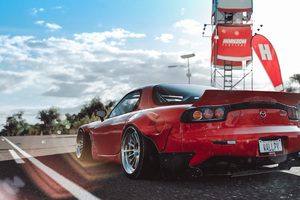 Forza Horizon 3 Mazda Rx7 4k