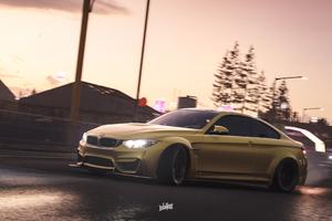 Forza Horizon 4 Bmw Drifting 4k Wallpaper