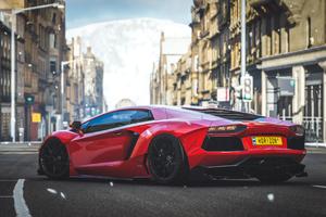 Forza Horizon 4 Lambo 4k
