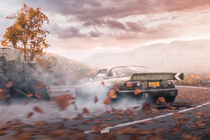 Forza Horizon 4 Mazda 4k Drifting Wallpaper