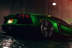Forza Lamborghini Aventador 4k