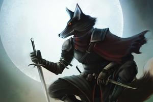 Fox Rogue Art 4k