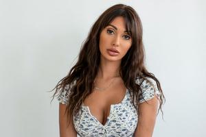 Francesca Farago Model Wallpaper