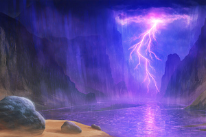 Freak Storm Lightning 4k