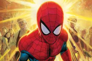 Friendly Neighbourhood Spiderman Wallpaper
