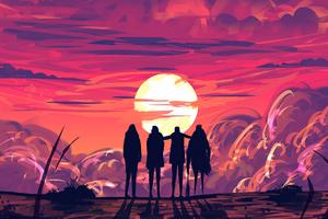 Friends Reunion Wallpaper