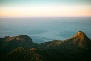 From Top Of Adams Peak SriLanka Wallpaper