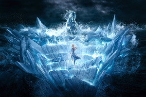 Frozen 12k Wallpaper