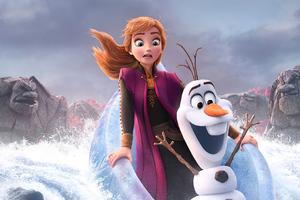 Frozen 2 2019 Poster
