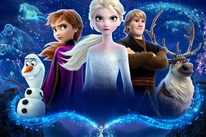 Frozen 2 Movie 4k Wallpaper