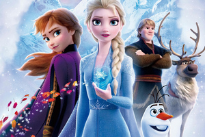 Frozen 2 Poster 4k