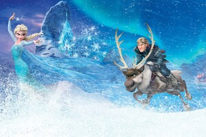 Frozen Movie Kristoff Elsa