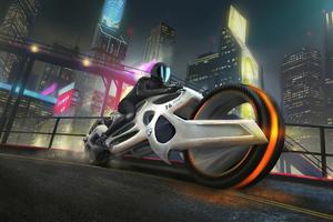 Futuristic Motorcyle 4k Wallpaper
